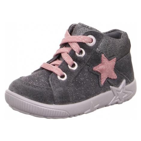 SUPERFIT Buty dziecięce 'STARLIGHT' różowy pudrowy / szary