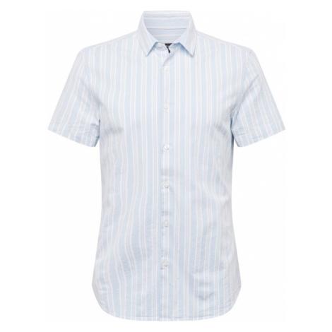NEW LOOK Koszula 'Manhattan Oxford' jasnoniebieski / biały