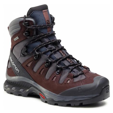 Trekkingi SALOMON - Quest 4D 3 Gtx W GORE-TEX 407985 20 V0 Ebony/Chocolate Plum/Peppercorn