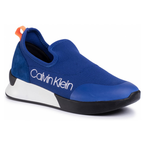 Sneakersy CALVIN KLEIN - Que E4451 Royal Blue