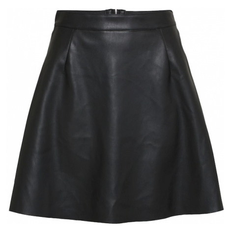 VILA Spódnica czarny
