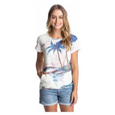 koszulka trykotowa Roxy Gone Going Printed - WBS0/Sea Spray