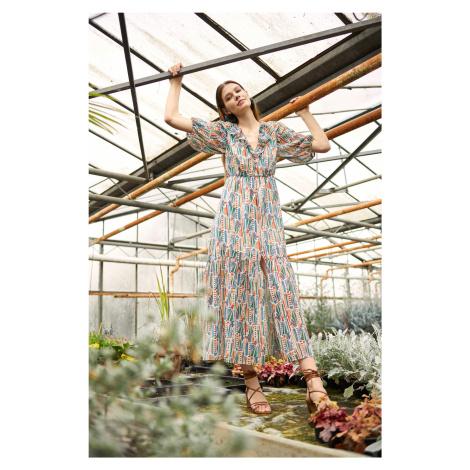 Bawełniana sukienka maxi Orsay