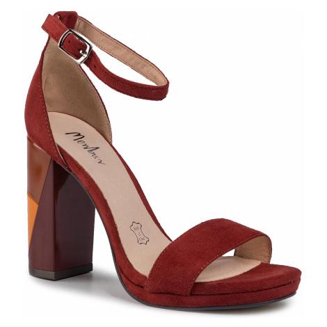 Sandały MENBUR - 20977 Rust 0065