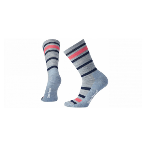 Women's socks Smartwool W STRIPED HIKE LIGHT CREW
