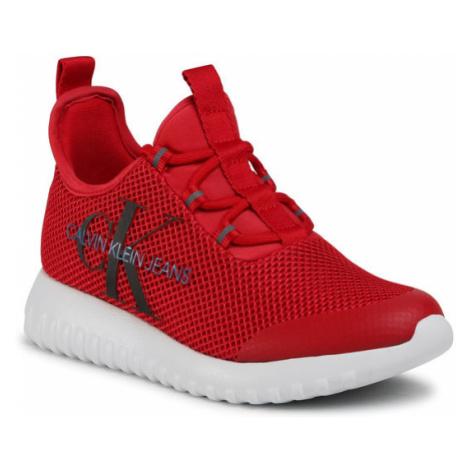 Calvin Klein Jeans Sneakersy Rosilee B4R1640 Czerwony