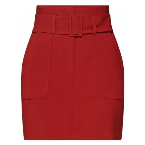 NEW LOOK Spódnica 'T COVERED BUCKLE UTILITY SKIRT' rdzawoczerwony