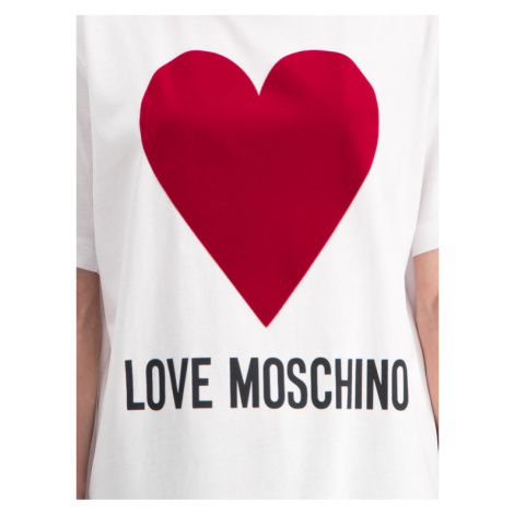 LOVE MOSCHINO T-Shirt W4F8721M 3517 Regular Fit