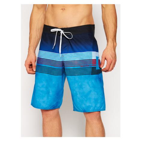 "DC Szorty kąpielowe Kuseck 21"" EDYBS03092 Niebieski Regular Fit"