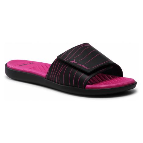 Klapki RIDER - Pool II Slide Fem 83092 Black/Black/Pink 22567
