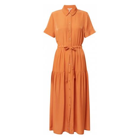 OBJECT Sukienka koszulowa pomarańczowy