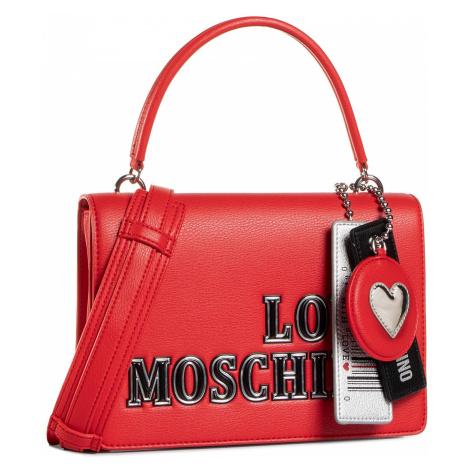 Torebka LOVE MOSCHINO - JC4238PP0BKG0500 Rosso