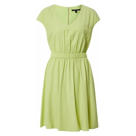ARMANI EXCHANGE Sukienka '3HYA39' żółty / jasnozielony