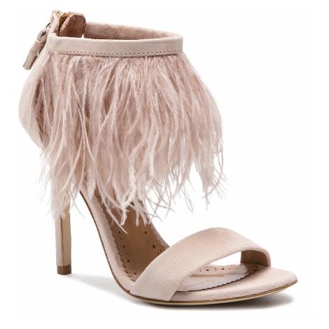 Sandały TWINSET - Sandalo 191TCP210 Bocciolo 00690