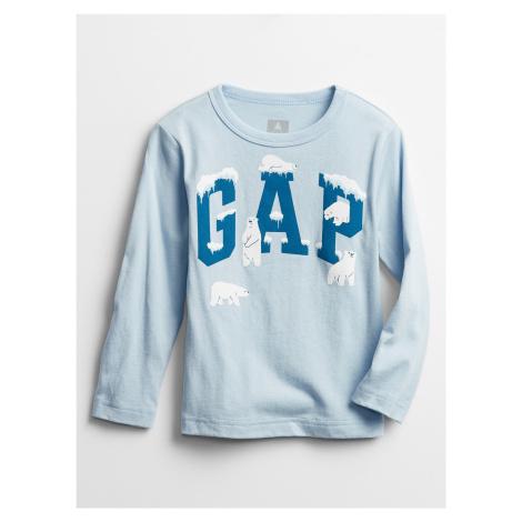 GAP niebieski chłopięce koszulka