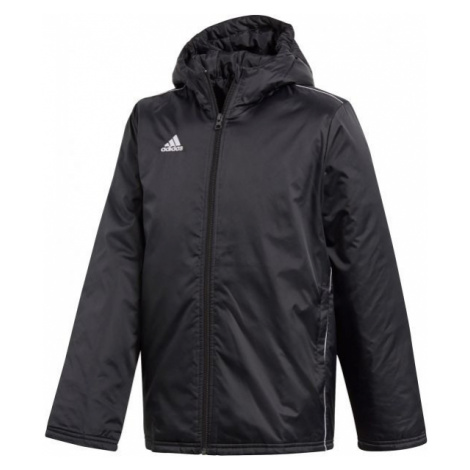 adidas CORE18 STD JKT czarny 152 - Kurtka sportowa chłopięca