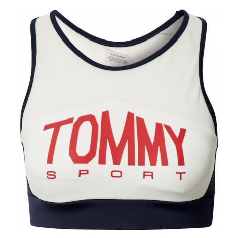 Tommy Sport Biustonosz sportowy czerwony / biały / ciemny niebieski