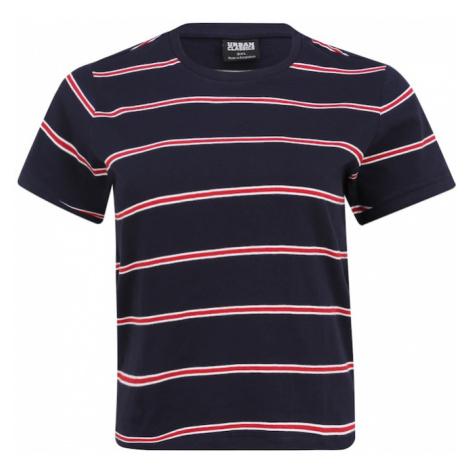 Urban Classics Curvy Koszulka czerwony / granatowy