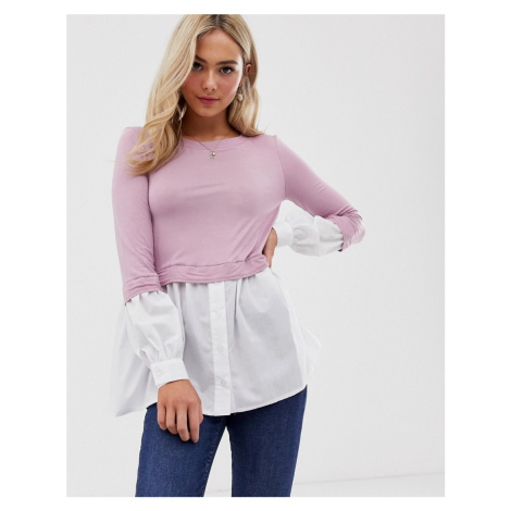 Love layered shirt top