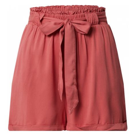 ONLY Spodnie 'ONLALMA LIFE VIS SHORTS SOLID WVN' czerwony