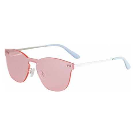 PUMA Okulary przeciwsłoneczne 'PU0137S-006 99' jasnoniebieski / różowy / srebrny