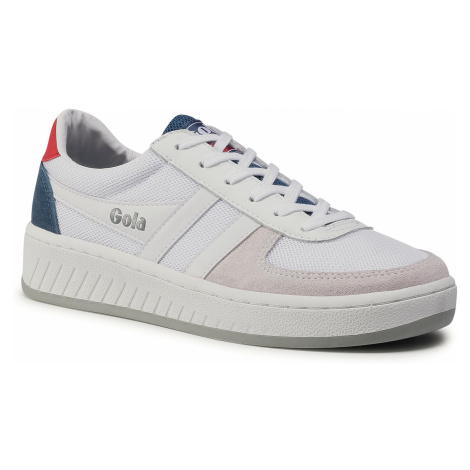 Sneakersy GOLA - Grandslam Mesh CMA588 White/Baltic/Red