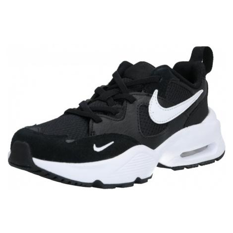 Nike Sportswear Trampki 'AIR MAX FUSION' biały / czarny
