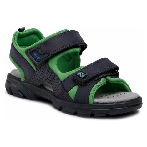 Sandały SUPERFIT - 1-000181-2000 S Grau/Grün