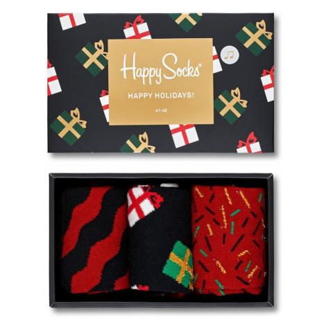Happy Socks - Skarpetki Giftbox Christmas Melody (3-pack)