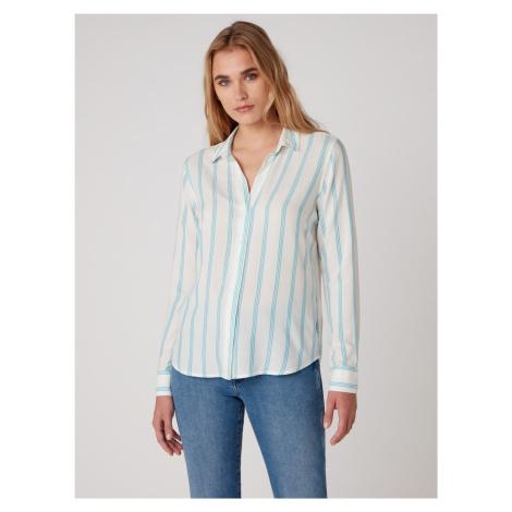 "Wrangler ""Stripe Shirt"" Carribean Sea"