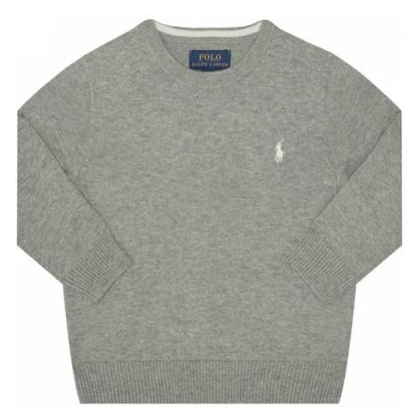 Polo Ralph Lauren Sweter Spring II 322702192002 Szary Regular Fit