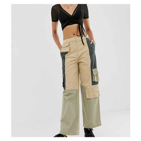 COLLUSION blocked utility trousers