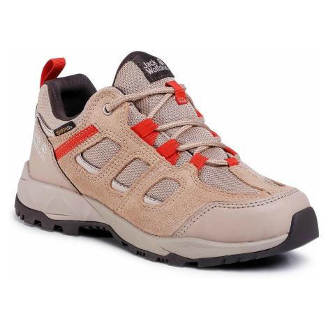Trekkingi JACK WOLFSKIN - Vojo Hike Xt Texapore Low W 4039051 Clay/Orange