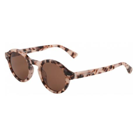Kapten & Son Okulary przeciwsłoneczne 'Tokyo' kremowy / brązowy