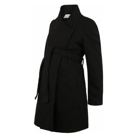 MAMALICIOUS Płaszcz przejściowy czarny Mama Licious