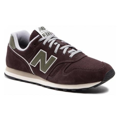 New Balance Sneakersy ML373RB2 Brązowy