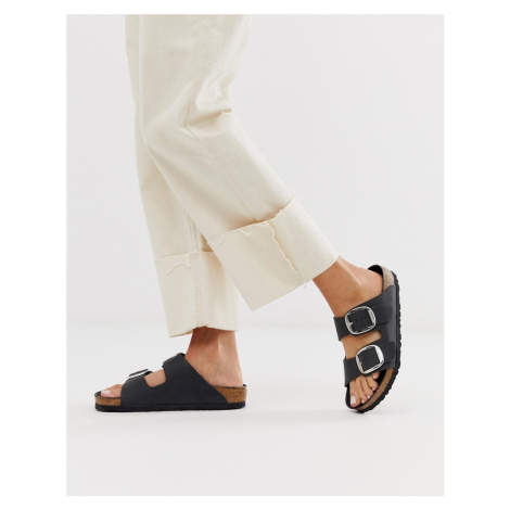 Birkenstock big buckle arizona leather sandal