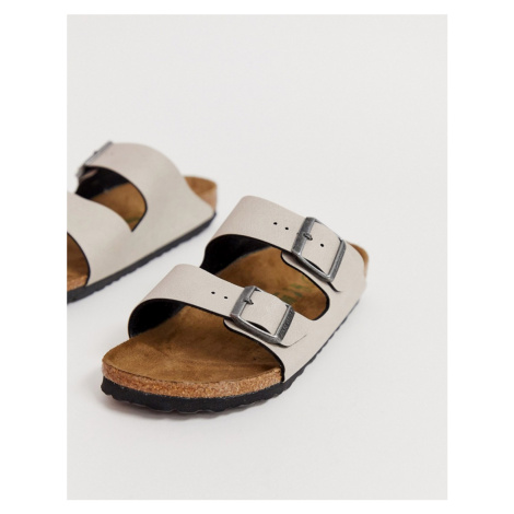 Birkenstock Vegan Arizona in Stone