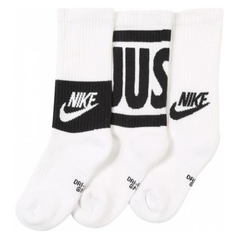 Nike Sportswear Skarpety czarny / biały