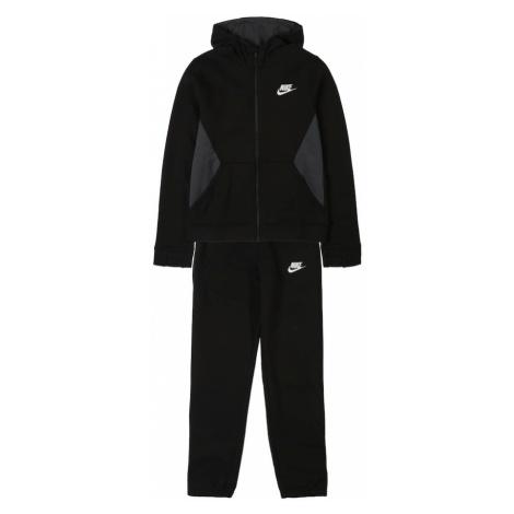 Nike Sportswear Strój do biegania 'Nike Sportswear' czarny