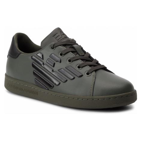 Sneakersy EA7 EMPORIO ARMANI - XSX006 XCC53 T007 Forest Night/Black