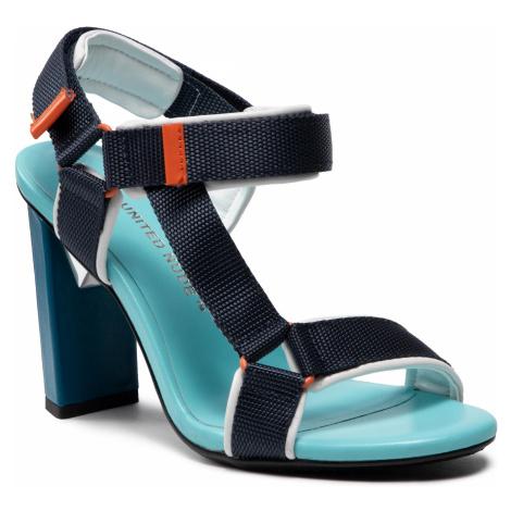 Sandały UNITED NUDE - Aura Hi 1060567715612 Blue Bit