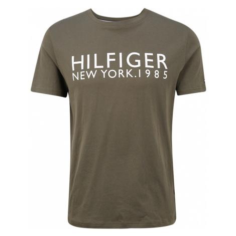Tommy Hilfiger Underwear Piżama krótka ciemnozielony