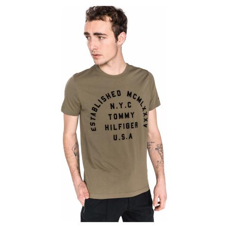 Tommy Hilfiger Koszulka Zielony