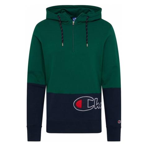Champion Authentic Athletic Apparel Bluzka sportowa granatowy / jodła