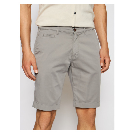 Pierre Cardin Szorty materiałowe 3465/000/2080 Szary Tailored Fit