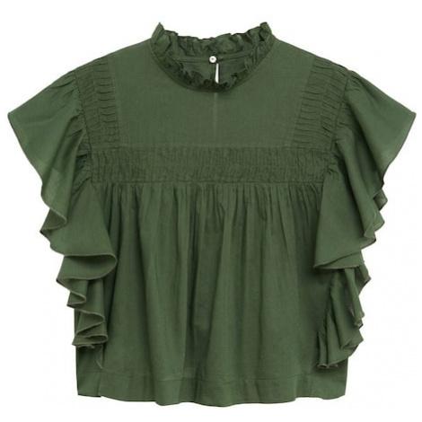 MANGO Koszulka zielony