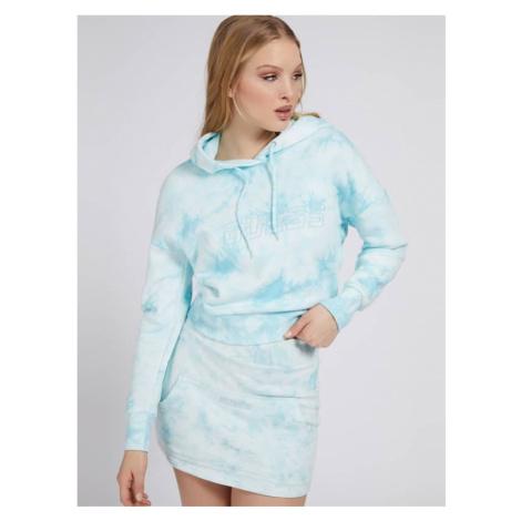 Bluza W Print Tie-Dye Guess