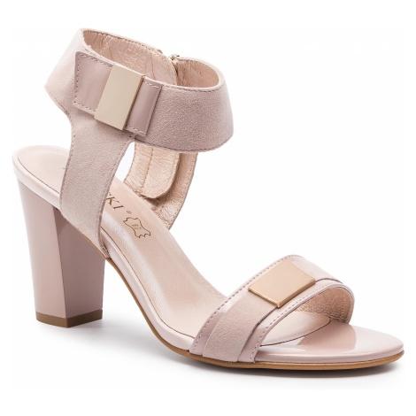 Sandały LASOCKI - 2608-01 Pink 1