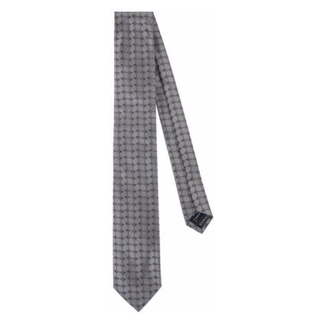Szare męskie krawaty